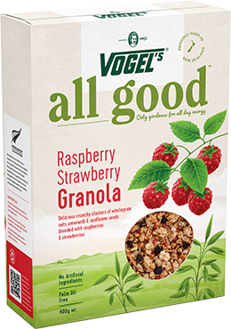 All Good Raspberry Strawberry Granola Smaller