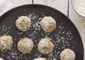 date lime coconut balls